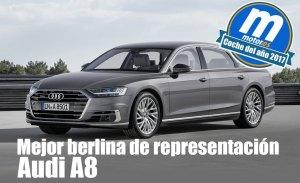 Mejor berlina de representación 2017 para Motor.es: Audi A8