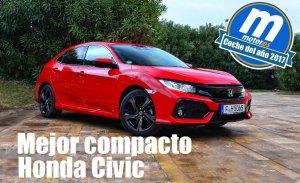 Mejor compacto 2017 para Motor.es: Honda Civic