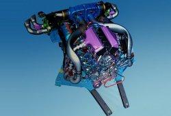 Filtrado nuevo motor V8 LT7 de doble turbo del futuro Corvette C8