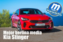 Mejor berlina media 2017 para Motor.es: KIA Stinger