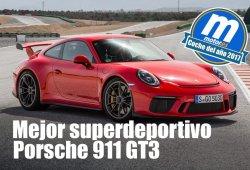 Mejor superdeportivo 2017 para Motor.es: Porsche 911 GT3
