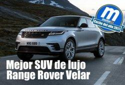 Mejor SUV de lujo 2017 para Motor.es: Range Rover Velar