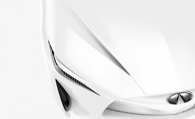 Infiniti Concept Car Salón de Detroit 2018