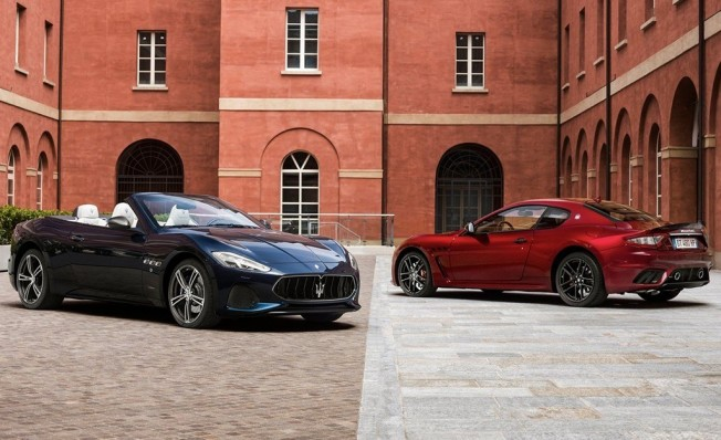Maserati GranCabrio y GranTurismo 2018
