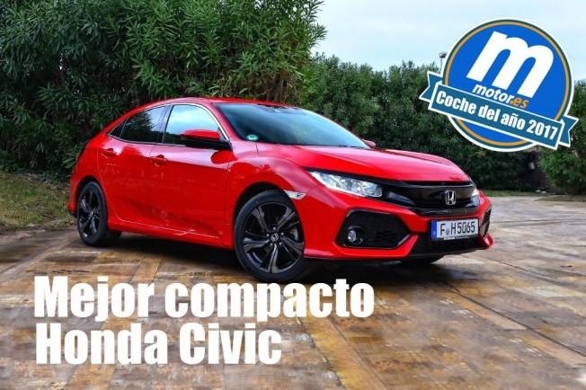 Honda Civic 2017 mejor compacto 2017 para Motor.es