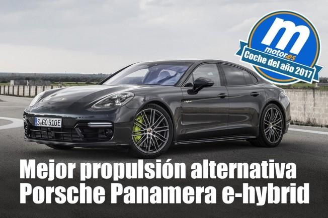 Porsche Panamera E-Hybrid - Mejor propulsión alternativa 2017 para Motor.es