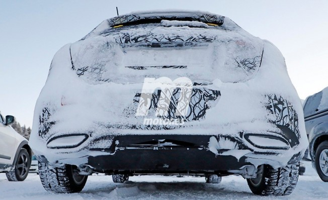 Mercedes Clase A Hybrid 2019 - foto espía posterior