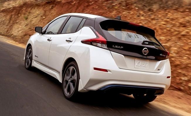 Nissan Leaf 2018 - posterior