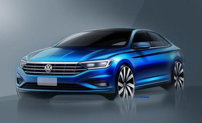 Volkswagen Jetta 2018 - boceto