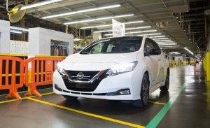 El nuevo Nissan Leaf 2018 ya es producido en Estados Unidos