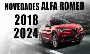 Descubrimos las novedades de Alfa Romeo de 2018 a 2024