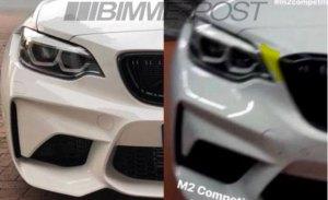 Filtrado el diseño del nuevo BMW M2 Competition