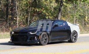 El Chevrolet Camaro 2019 tendrá cajas de 6, 7, 8 y 10 velocidades