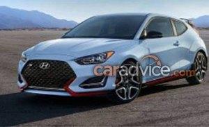 Los nuevos Hyundai Veloster y Veloster N se filtran antes de su debut mundial en el Salón de Detroit