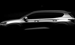 El Hyundai Santa Fe 2019 ya se presenta con este primer teaser