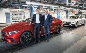 La producción del nuevo Mercedes Clase CLS 2018 ya está en marcha