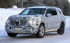 El Mercedes GLS 2019 se enfrenta a la nieve en sus test de invierno
