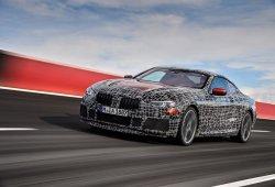 BMW vuelve a mostrar al nuevo Serie 8 luciendo su capacidad en el circuito de Aprilia
