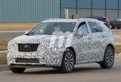 El nuevo Cadillac XT4 2019 sigue perdiendo camuflaje