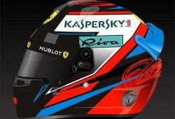 Kimi Räikkönen desvela el diseño de su casco para 2018