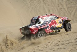 Dakar 2018, etapa 3: El qatarí Al-Attiyah contesta a Peugeot