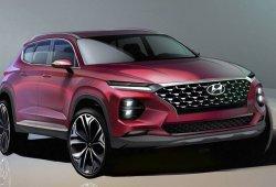 Hyundai anticipa el nuevo Santa Fe con unas ilustraciones