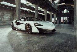 Novitec se atreve con el nuevo McLaren 570S Spider