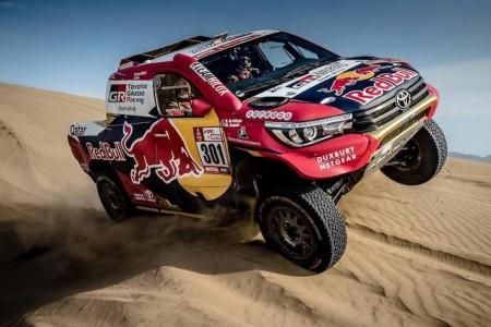 Dakar 2018, etapa 1: Toyota y Al-Attiyah meten miedo