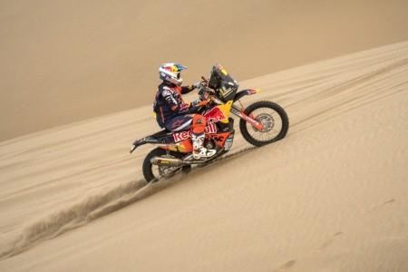 Dakar 2018, etapa 3: Victoria de autoridad de Sunderland
