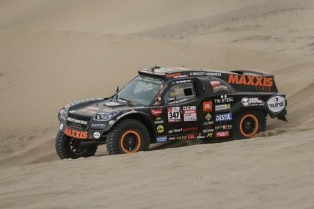 Dakar 2018, etapa 3: Versión mejorada del mismo desierto