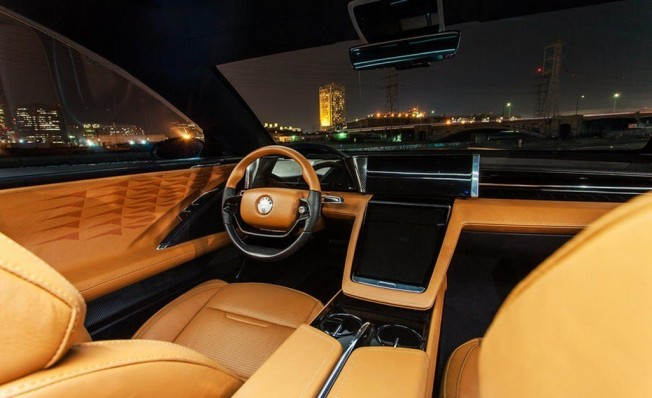 Fisker EMotion - interior