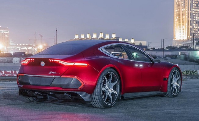 Fisker EMotion - posterior