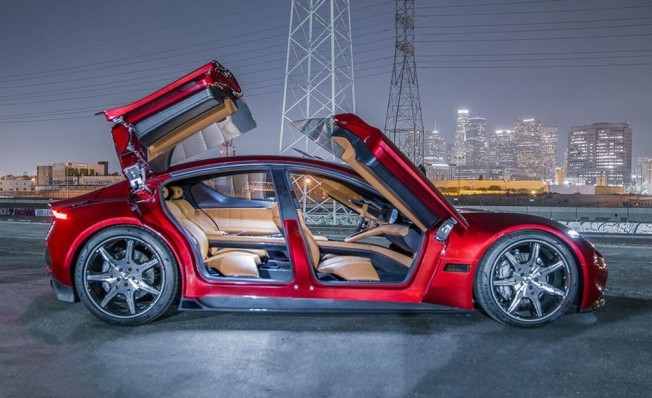 Fisker EMotion - lateral