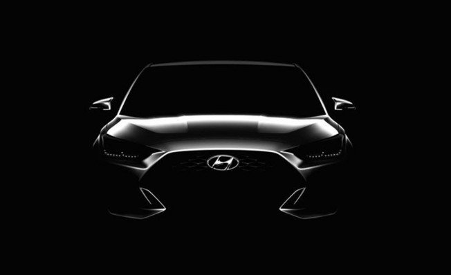 Hyundai Veloster 2018 - frontal