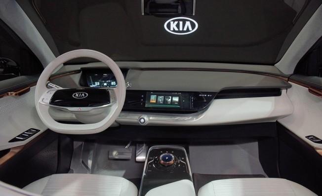 Kia Niro EV Concept - interior