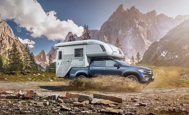Mercedes Clase X Camper Concept