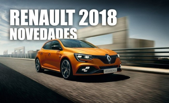 Novedades de Renault en 2018