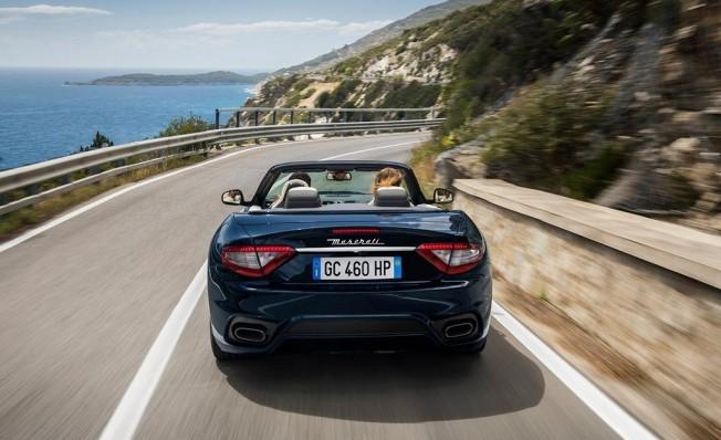 Maserati GranCabrio 2018 - posterior