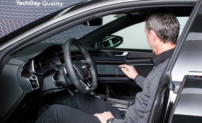 Pruebas de validación de Audi