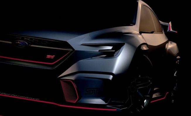 Subaru Viziv Performance STI Concept - teaser
