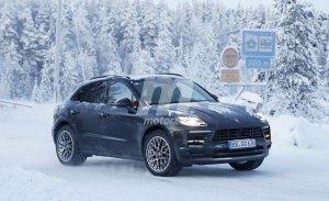 El nuevo Porsche Macan 2018 se enfrenta a la nieve en el norte de Europa