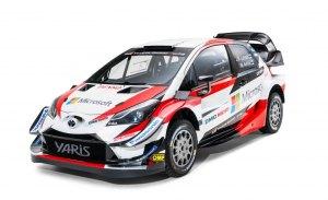 Cambios en la aerodinámica del Toyota Yaris WRC 2018