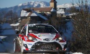 Toyota inicia su ofensiva en el Rally de Montecarlo