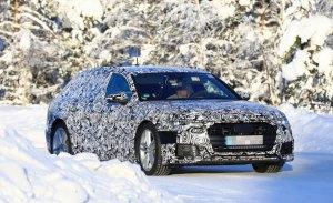 El nuevo Audi A6 Avant cazado durante sus tests de invierno