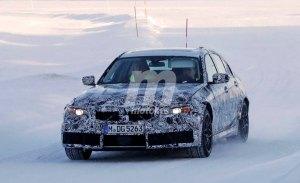BMW M3: la nueva generación G80 ya se enfrenta a la nieve