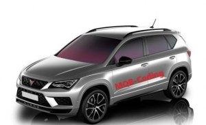 Filtrado el Cupra Ateca: la nueva versión deportiva del SEAT Ateca