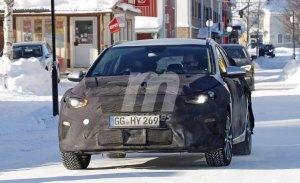 La nueva generación del Kia Ceed Sportwagon se enfrenta a las pruebas de invierno