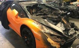 ¿Pagarías 67.000 euros por un Lamborghini en este estado?