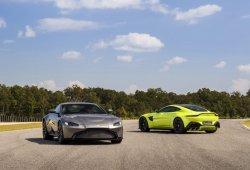 El nuevo Aston Martin Vantage debutará ante el gran público en el Salón de Ginebra 2018