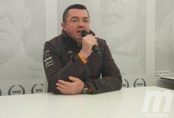 """Boullier: """"No puedes comparar tener un motor propio con ser un equipo cliente"""""""